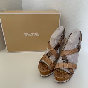 Michael Kors- Mackay Wedge Sandal